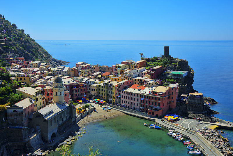 Vernazza Source : chensiyuan/Wikipedia