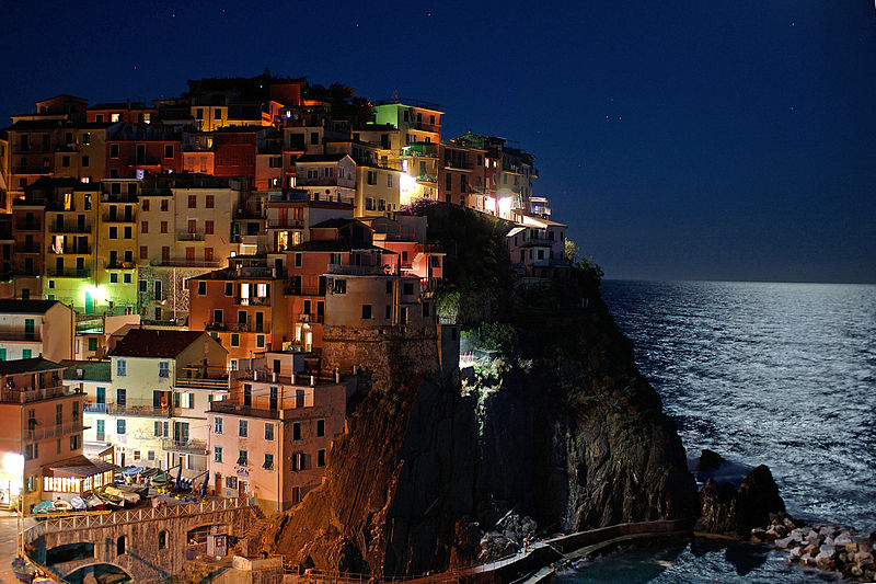 Manarola Source : Goldmund100/Wikipedia
