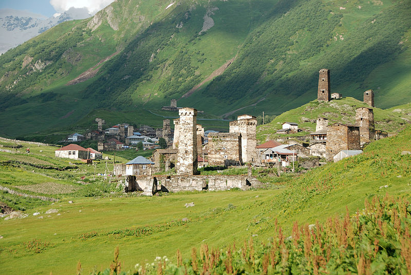 Ushguli, florian pinel-wikimedia