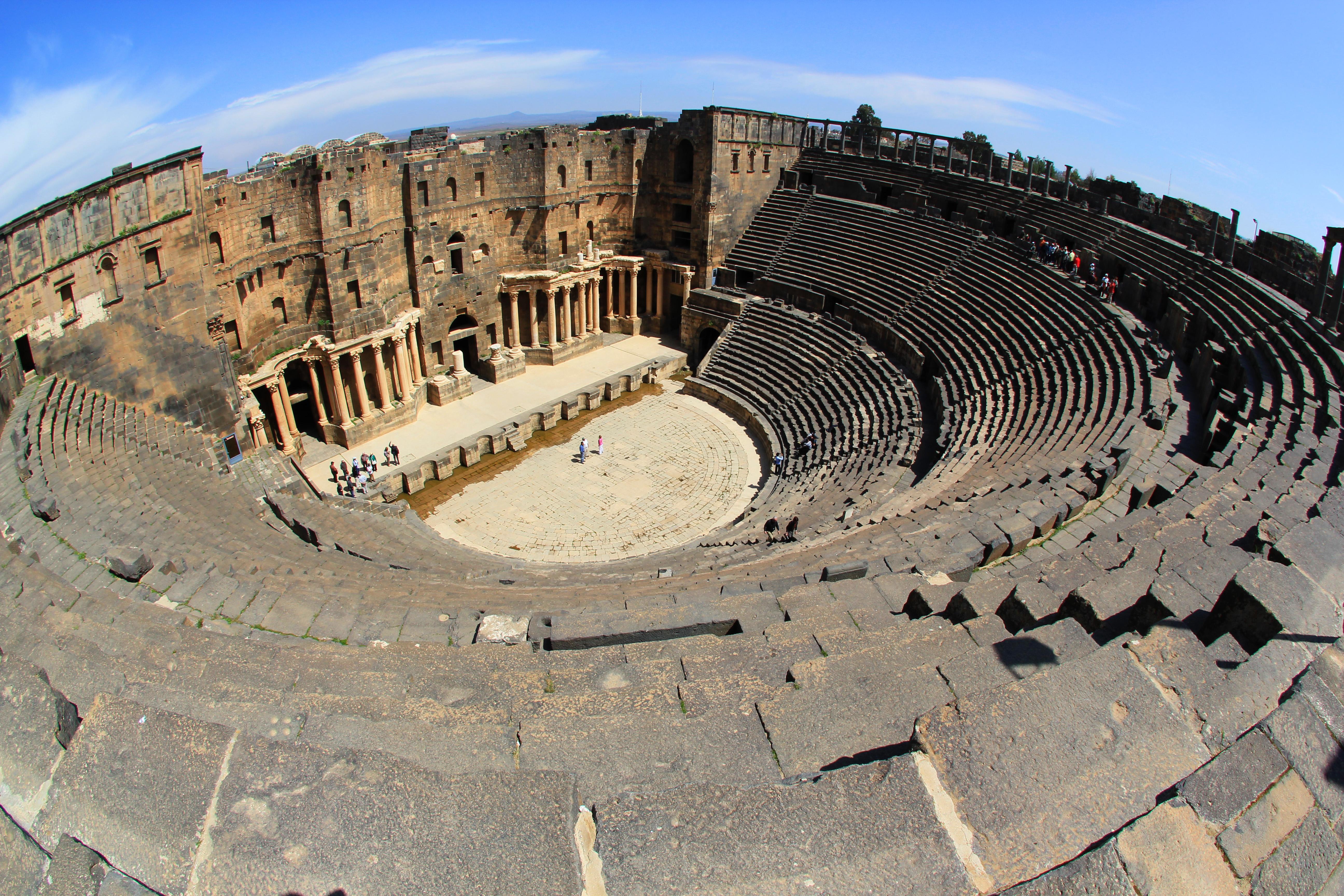 théâtre romain de Bosra