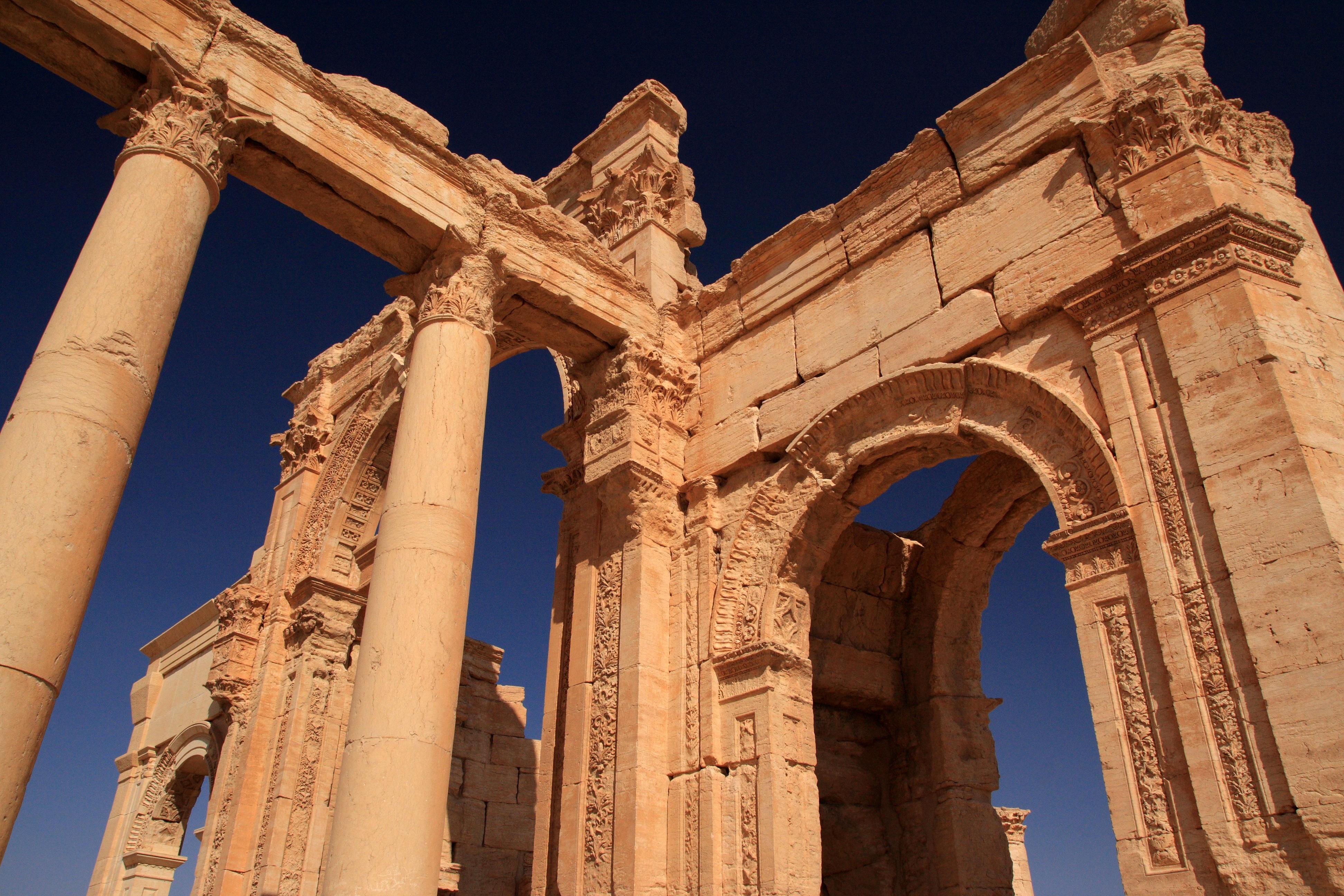 L'arc de Palmyre