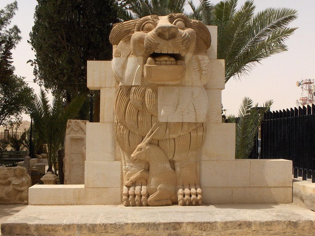 lion de Palmyre