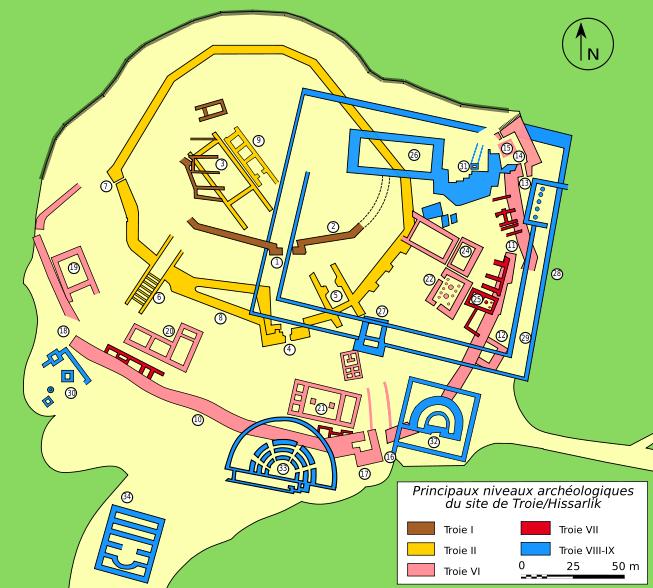 Plan de Troie