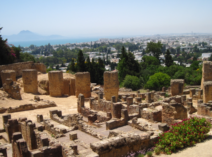 ruines de Byrsa Carthage