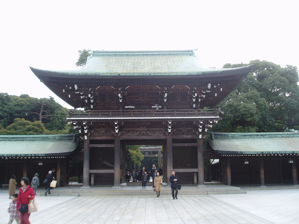 Meiji-jingu Tokyo temples japon