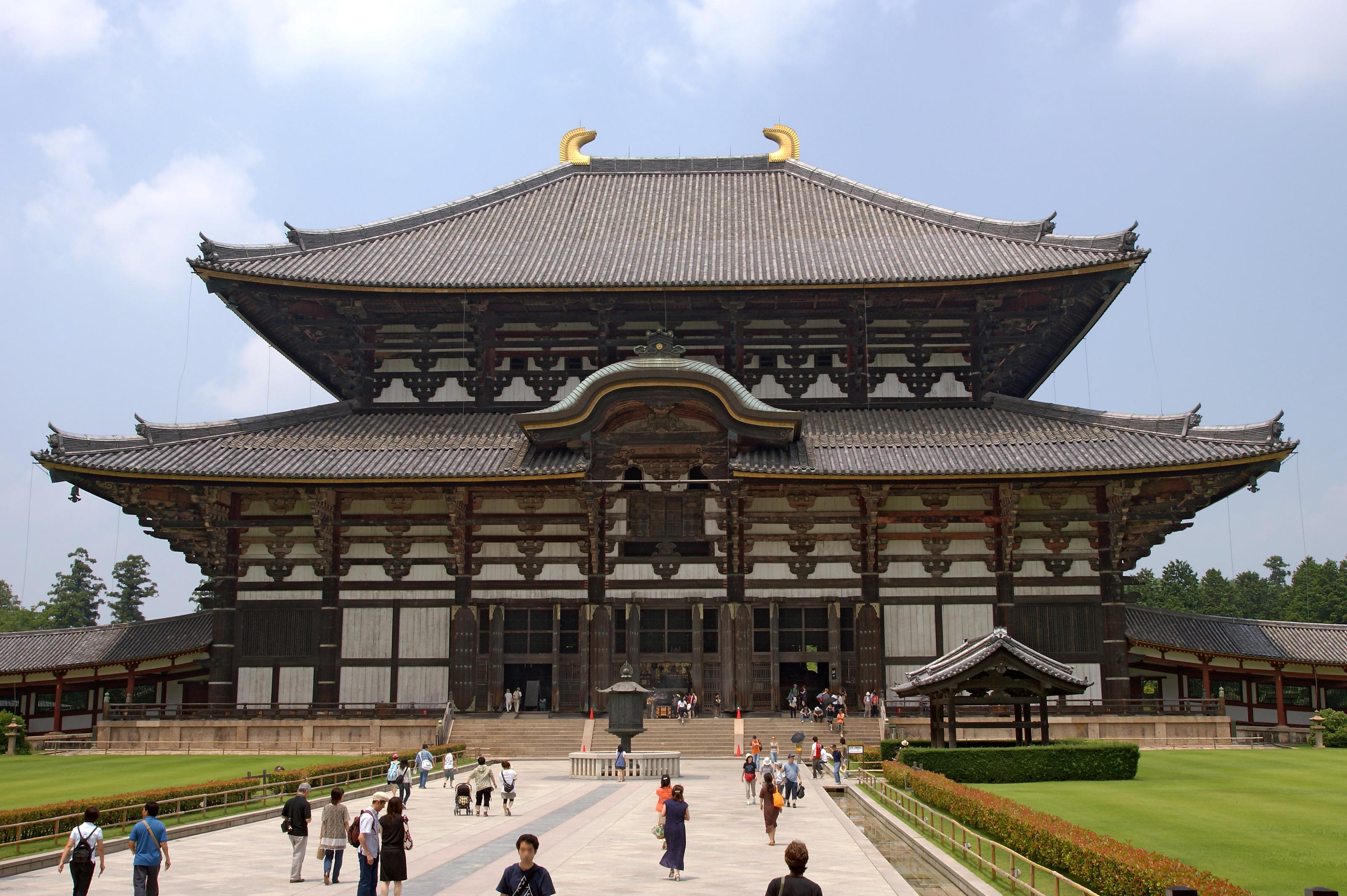 Toda ji Nara temples japon