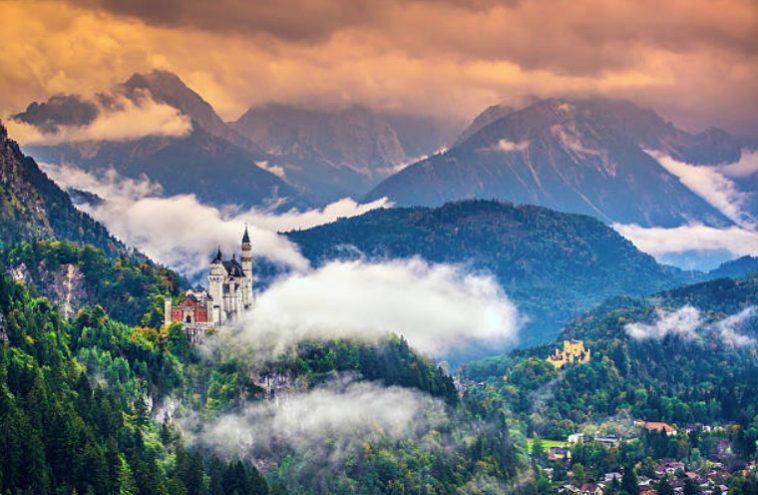 chateau neuschwanstein allemagne paysages