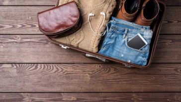 voyage valise préparation vêtement bagage