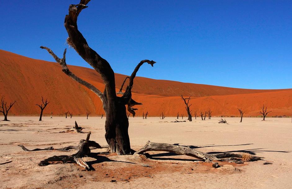 dunes Sossusvlei, Namibie