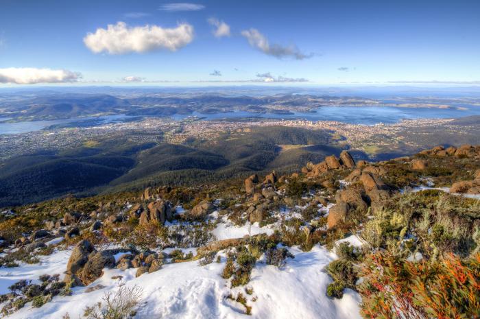 Mont Wellington, Tasmanie