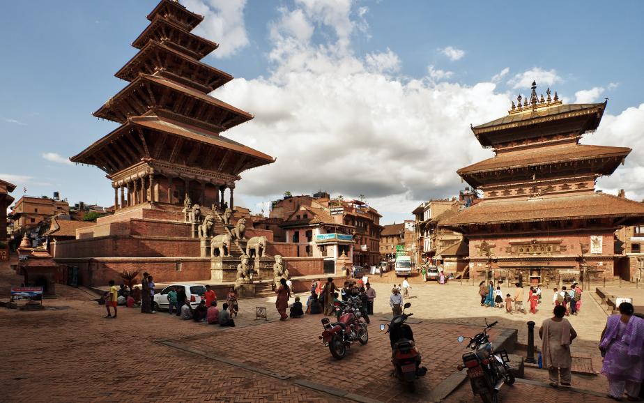 Bakhtapur, Népal