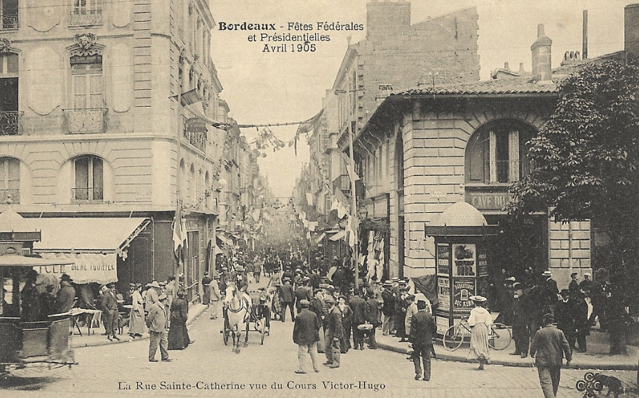 rue Saint-Catherine 1905