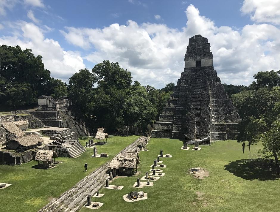 ruines maya Tikal