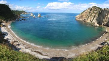Playa del Silencio, Espagne