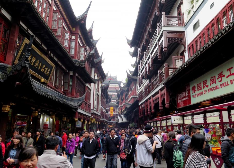 Vieille ville, Shanghai