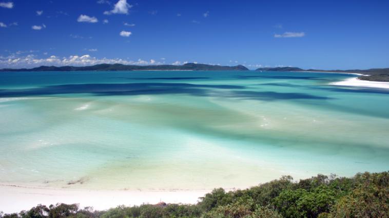 Whitehaven Beach, Australie