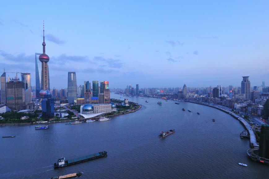fleuve Shanghai