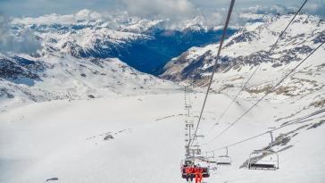 Station de ski en France