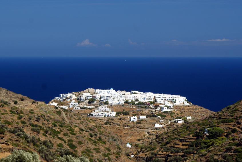Kastro de sifnos, Grèce