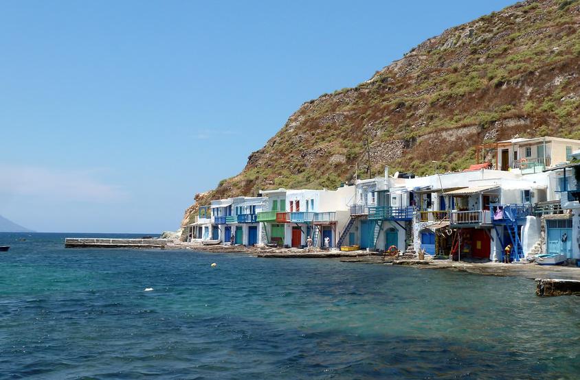 Klima, Grèce