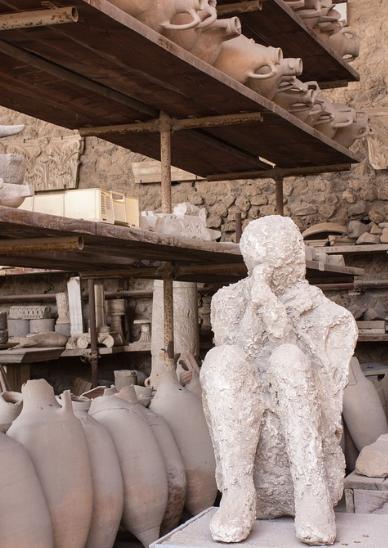 Pompei corps