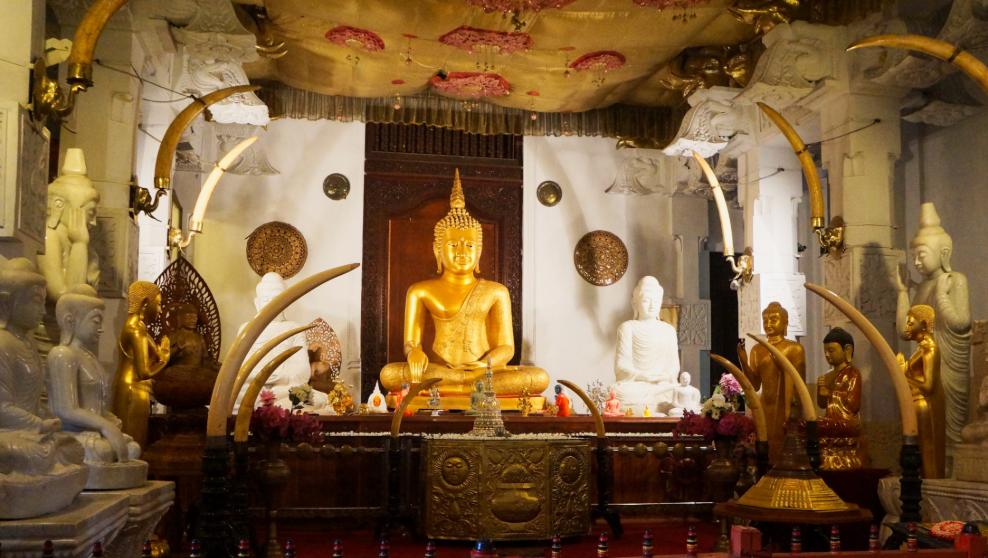 Temple de la dent, Sri Lanka