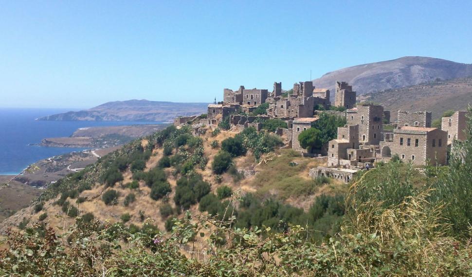 Vathia, Grèce