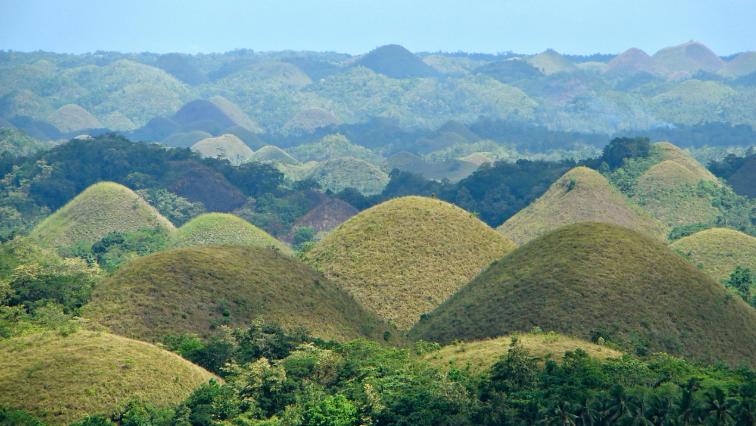 collines en chocolat, Bohol, Philippines