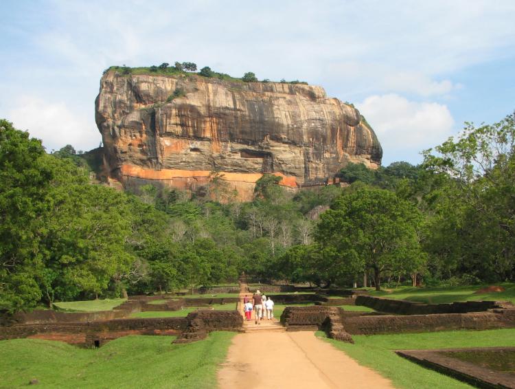 rocher de Sigiraya, Sri Lanka