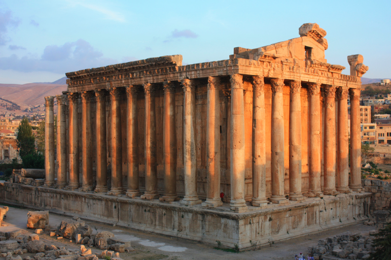 cité antique de Baalbek, Liban