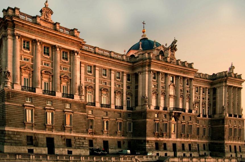 El palacio Real, Madrid