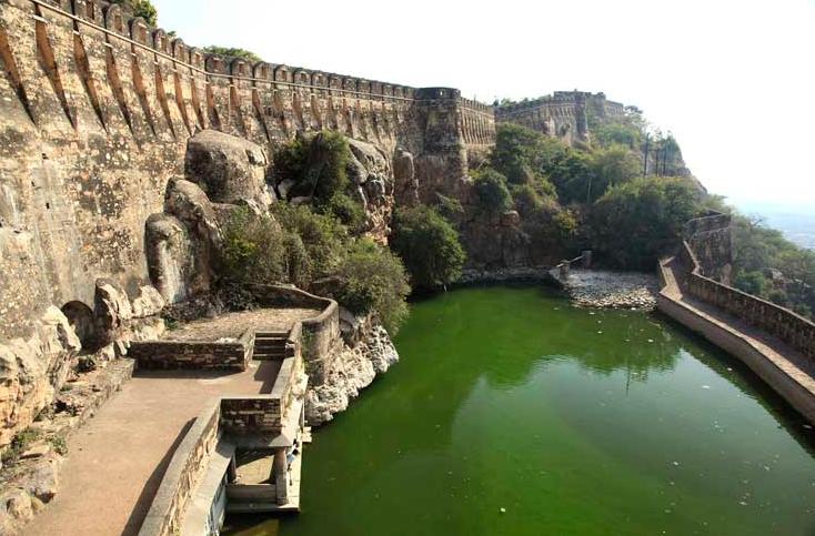 Fort de Chittorgarh, Inde