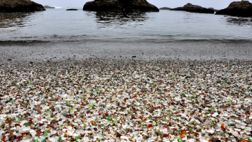 Glass Beach, Californie, Etats-Unis