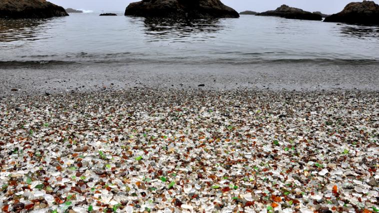 Glass Beach, Californie, Etats-Unis