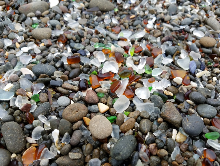 Glass Beach, Californie