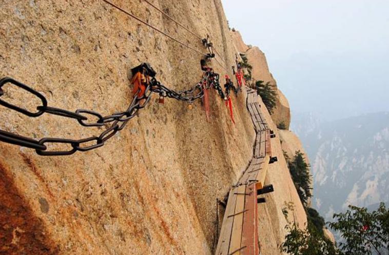 Mont Huashan, Chine