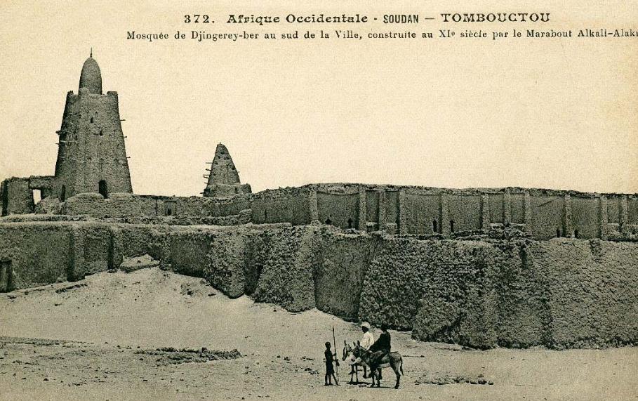 Mosquée Djingareyber, Tombouctou, Mali