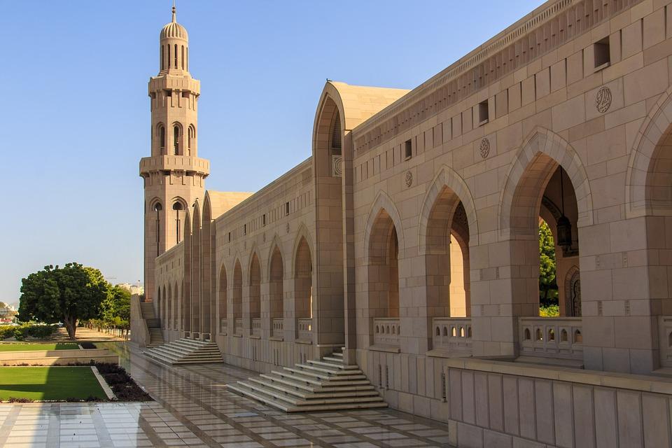 sultan-qaboos grande mosquee
