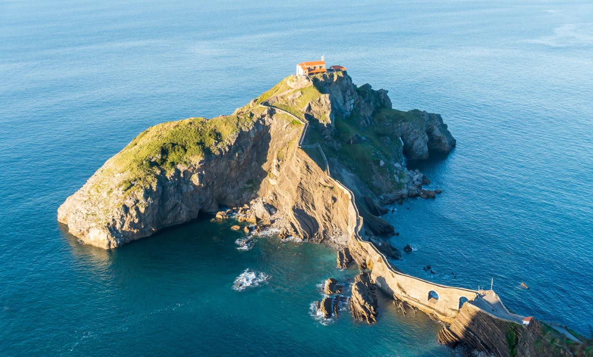 île de Gaztelugatxe, Espagne