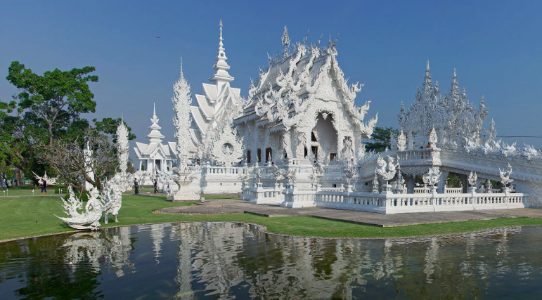 Wat Rong Khun, Thaïlande