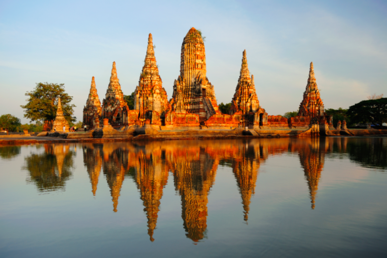 Wat Chai Watthanaram, Thaïlande