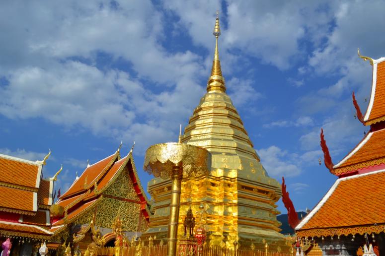 Wat Phrathat Doi Suthep, Thaïlande