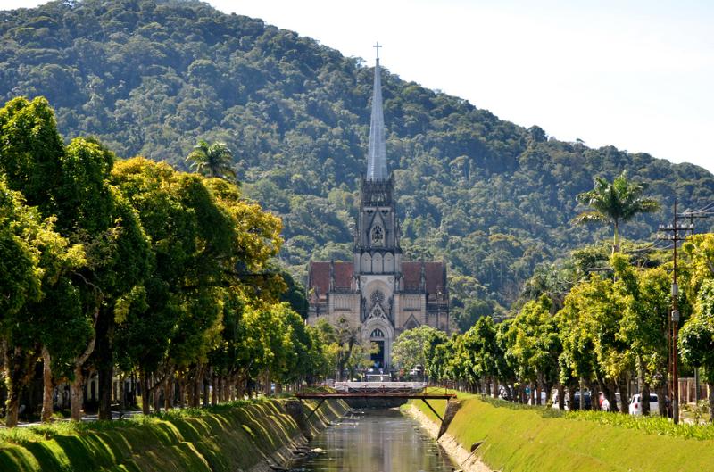 Cathédrale Pétropolis, Brésil