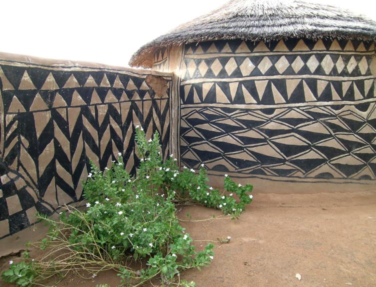 Tiébélé, village burkinabé