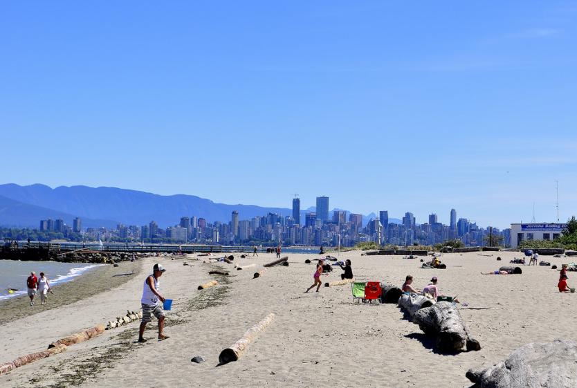 plage de Vancouver