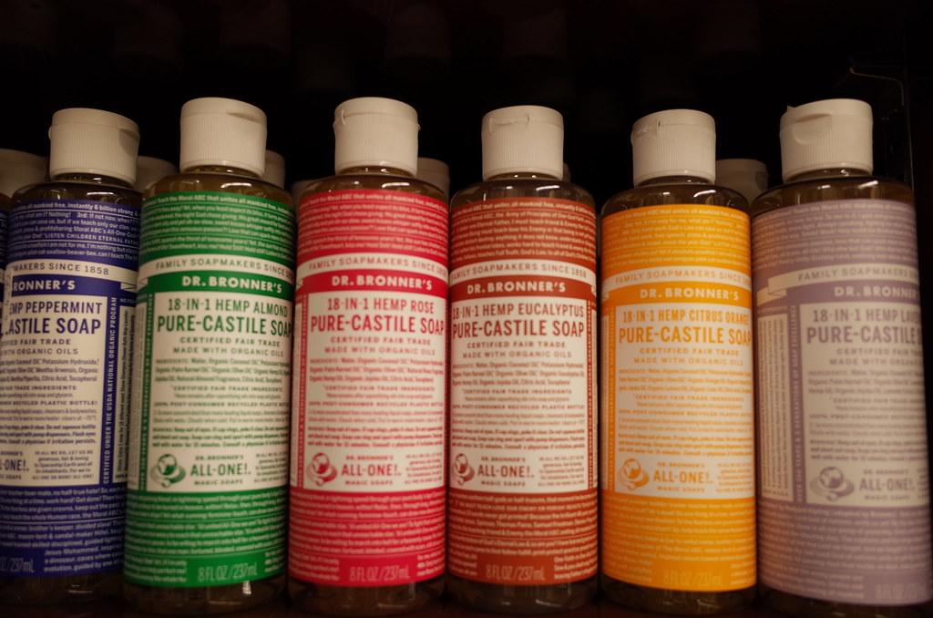 Dr bronner's savon