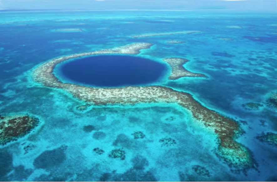 Grand trou bleu belize