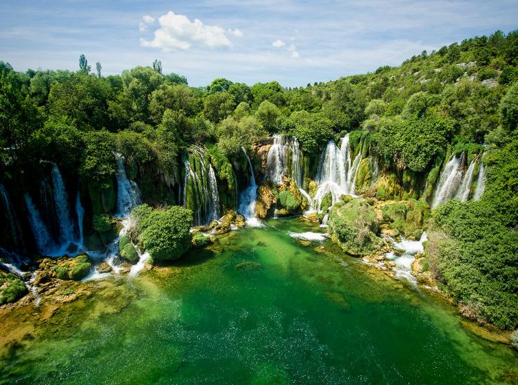cascades de Kravica