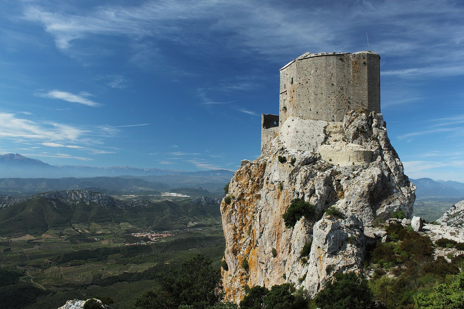 chateau de queribus europe