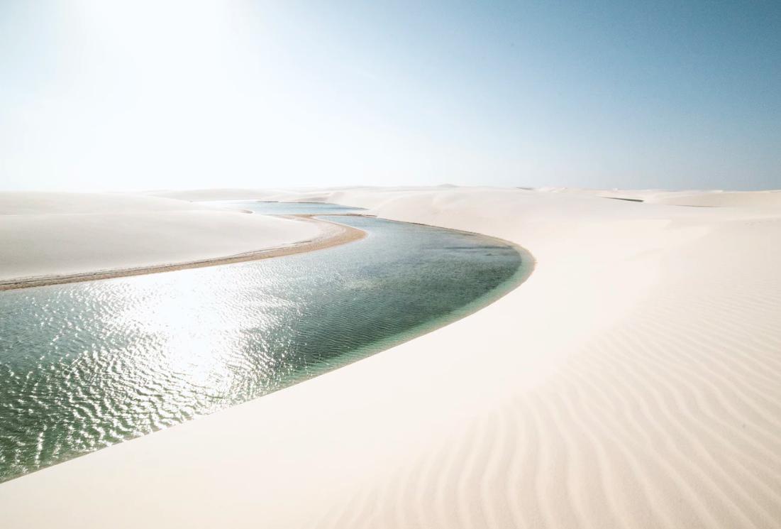 désert des Lençois Maranhenses, Brésil